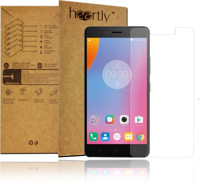 Heartly Tempered Glass Guard for Lenovo K6 Plus(Pack of 1)