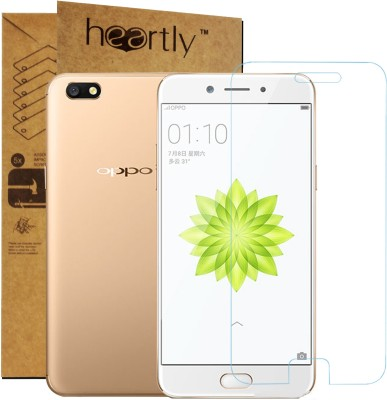 Heartly Tempered Glass Guard for Oppo A77(Pack of 1)