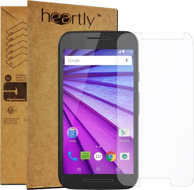 Heartly Tempered Glass Guard for Moto E3(Pack of 1)