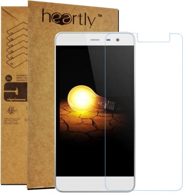 Heartly Tempered Glass Guard for Micromax Bolt A064(Pack of 1)