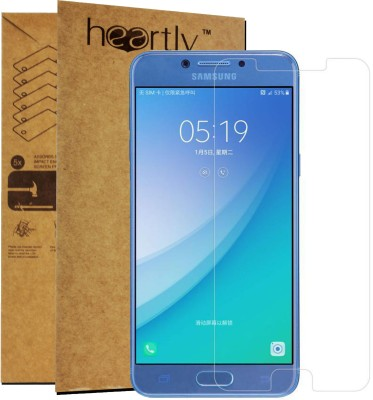 Heartly Tempered Glass Guard for Samsung Galaxy C5(Pack of 1)