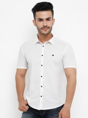 Showoff Men & Women Solid Casual White Shirt