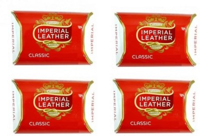Imperial Leather Classic Soap (Pack of 4) - [Made in UAE](4 x 43.75 g)
