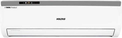 Voltas 1.5 Ton 3 Star BEE Rating Split AC  - White(183CZA, Copper Condenser)
