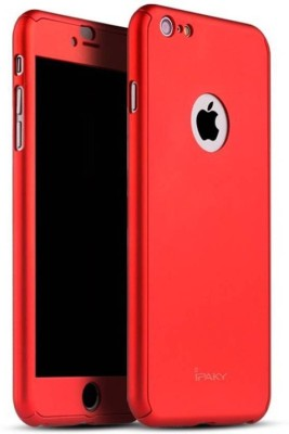 GoldKart Front & Back Case for Apple iPhone 6s Plus(Red, Plastic)