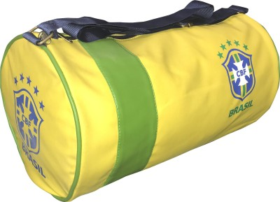78% OFF on CP Bigbasket Leather Rite Sports Duffle (Expandable) Gym Bag(Yellow)  on Flipkart  3ae8f1c203c23