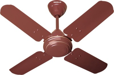 Havells Speedster 4 Blade Ceiling Fan(Brown, Pack of 1) at flipkart