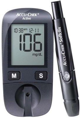 Accu-Chek Acive With 50 Strips [ New No Coding } Glucometer Health Care Appliance Combo
