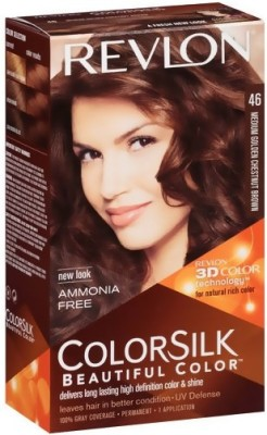 Revlon Beautiful Color Hair Color(Medium Golden Chestnut Brown)