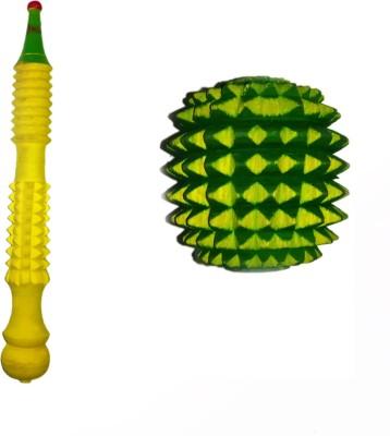 Atarilights FD1309 Wooden Acupressure Ball roller & Massager Stick Massager(Green, Yellow)  available at flipkart for Rs.199