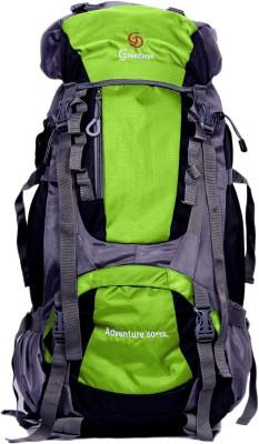 c95c4440ae 58% OFF on GRANDIOSE 70L Parrot Green Hiking Backpack   Rucksack bags  (GTB67001PG)