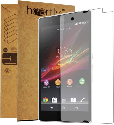 Heartly Tempered Glass Guard for Sony Xperia Z3 Compact Mini(Pack of 1)
