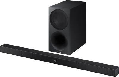 Samsung HW-N450 320 W Bluetooth Soundbar(Black, 2.1 Channel)