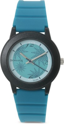 Sonata NG8992PP01 Fashion Fibre Analog Watch - For Women