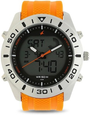 Fastrack 38034SP01J  Analog-Digital Watch For Men