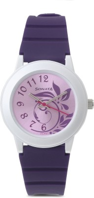 Sonata NG8992PP03J Analog Watch - For Women