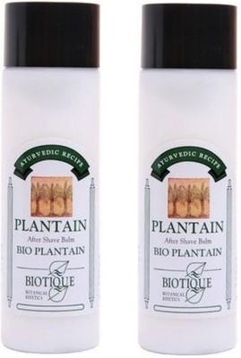 BIOTIQUE BIO PLANTAIN AFTER SHAVE BALM FOR MEN 120ML Aftershave Balm(240 ml)
