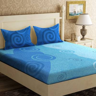IWS Cotton Printed Double Bedsheet