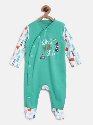 4a643acdb26d 37% OFF on MINIKLUB Baby Boys Green Sleepsuit on Flipkart ...