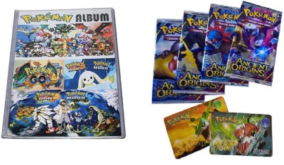Krypton Pokemon 8 pocket (Total 208 Pocket) Pokemon Trading Card Album with VIP Cards(Multicolor)  available at flipkart for Rs.499