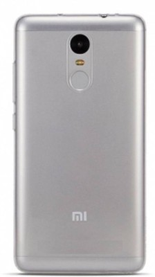 Mozette Grip Back Cover for Mi Redmi Note 4 Transparent