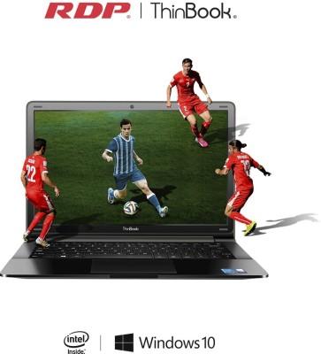 RDP ThinBook Atom Quad Core 8th Gen - (2 GB/32 GB EMMC Storage/Windows 10) 1130-EC1 Laptop(11.6 inch, Black)