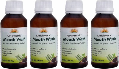 karishmatic Herbal Refreshing Mouth Wash - Mint(400 ml)