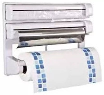 Lagom ABS Strong Moulded Easy Flow™ Type-X-5 3-in-1 Kitchen Roll Holder Mount For Cling Film Towel Wrap Aluminium Foil Wall Mounted ABS Strong Moulded Easy Flow™ Type-X-6 Paper Dispenser Paper Dispenser  available at flipkart for Rs.849
