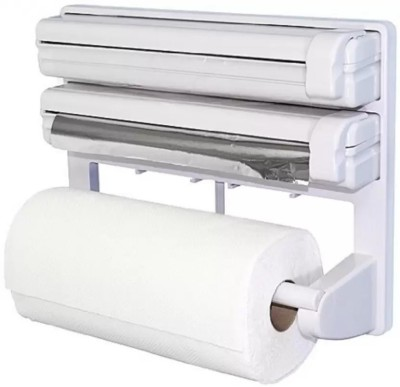 Lagom ABS Strong Moulded Easy Flow™ Type-X-4 3-in-1 Kitchen Roll Holder Mount For Cling Film Towel Wrap Aluminium Foil Wall Mounted ABS Strong Moulded Easy Flow™ Type-X-5 Paper Dispenser Paper Dispenser  available at flipkart for Rs.799