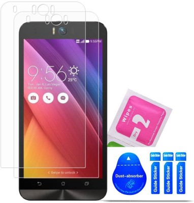 Bibossi Tempered Glass Guard for Asus Zenfone Selfie [5.5 Inch] - Pack of 2(Pack of 2)