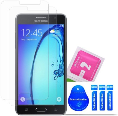 Bibossi Tempered Glass Guard for Samsung Galaxy On 5, Samsung Galaxy On 5 Pro [5.0 Inch] - Pack of 2