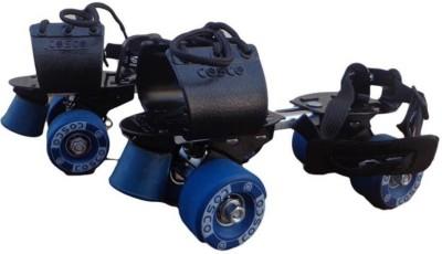 Cosco Tenacity Super Sr. (19.5 - 26.5 cm) Age Group (8+ Years) Quad Roller Skates - Size Kids 12 - Adults 8 UK(Blue) Flipkart