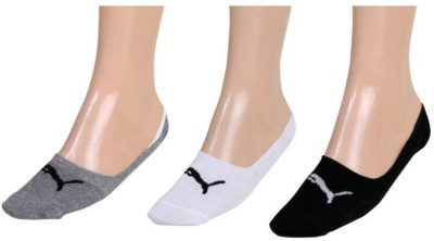 Puma Men & Women Solid Footie Socks(Pack of 3)  available at flipkart for Rs.189