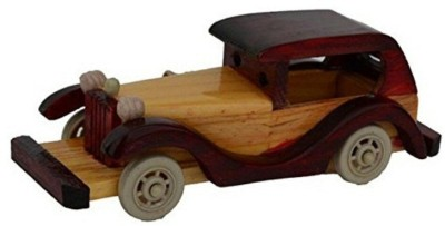 Desi Karigar Vintage Roof Car Toy tricycle(Brown)  available at flipkart for Rs.399