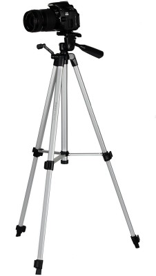 Spring Jump No-1 Brand Beginner Tripod Tripod(Silver, Supports Up to 1500 g) 1