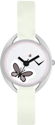 FASHION POOL VALENTIME LADIES WATER MARK STAINLESS STEEL OVAL PURE WHITE SHAPE DIAL WITH WITH STRAPS FESTIVAL SPECIAL BUTTERFLY DIAL GRAPHICS FOR CASUAL & PROFESSIONAL WEAR Watch  - For Girls  available at flipkart for Rs.169