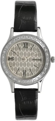 Sonata 8123SL03 Stardust Analog Watch For Women