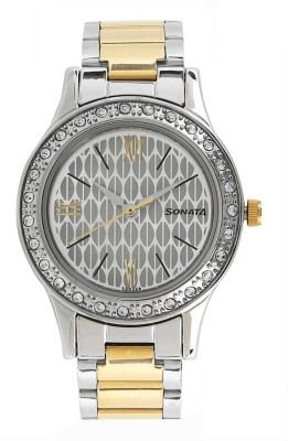 Sonata 8123BM01 Stardust Analog Watch For Women