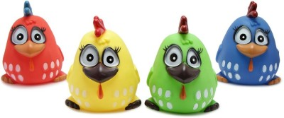 Offspring Pack of 4 Bath Toy(Multicolor)