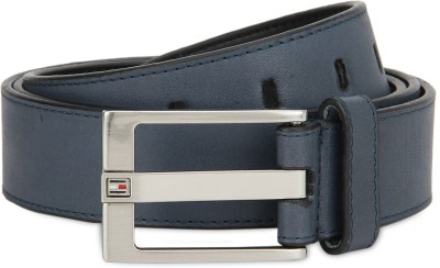 Tommy Hilfiger Men Casual Blue Genuine Leather Belt