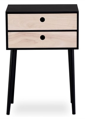 Induscraft INBCD3 Solid Wood Free Standing Chest of Drawers(Finish Color - Honey Brown)