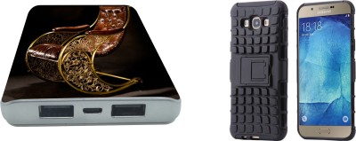 Nasty Frog Case Accessory Combo for Samsung Galaxy A8(Multicolor)