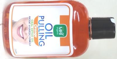 mrtorganic Oil Pulling Orange Flavour - Orange(250 ml)