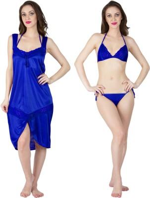 MILIT Women Nighty(Blue)