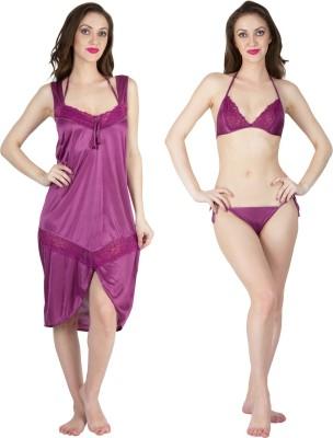 MILIT Women Nighty(Purple)