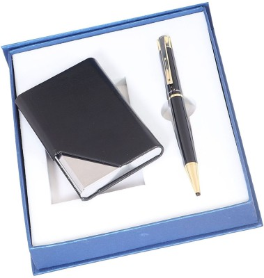 Front Line Star Neo 500 Series With Metal 20 Business Card Holder Gift Set Pen Gift Set