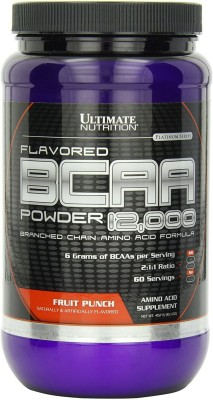Ultimate Nutrition BCAA(457 g, Fruit Punch)