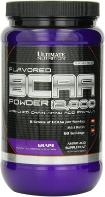 Ultimate Nutrition 100% Crystalline BCAA 12000 (450gm, Grape)