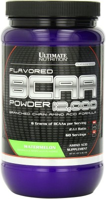 Ultimate Nutrition 100% Crystalline BCAA 12000 (1 lb), 457.6 gm Watermelon