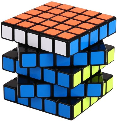 Kiditos 5x5 Black Base Speed Rubik's Cube(1 Pieces)  available at flipkart for Rs.449